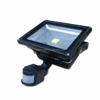 12V 24V Solar led Flood Lighting solar motion sensor security light 10w 20w 30w 50w