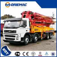 China new SANY 43M truck mounted Concrete Pump SYG5310THB43