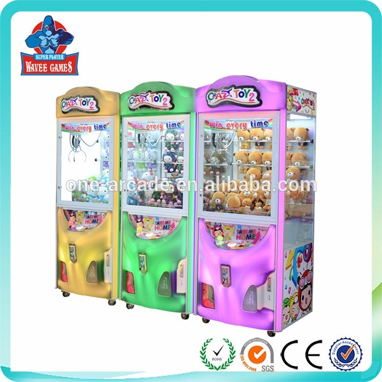 quality supplier malaysia claw toy game machine single players for game center