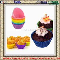 Food Grade BPA Free Silicone Baking Cups Mold/Muffin Cupcake Liners