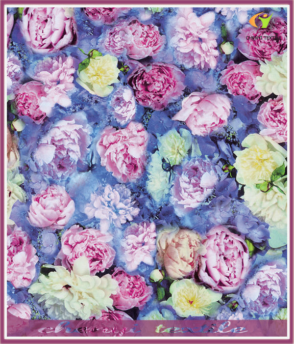 Spring 2014 New Peony design heat transfer printing paper