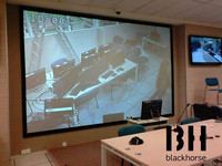 Customized Scientific Research 120inch Fixed Frame Projector Screen