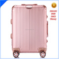 alu trolley suitcase 2017 factory new design high quality aluminum luggage