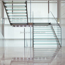 Australia Modern luxury glass stairs for Indoor Outdoor