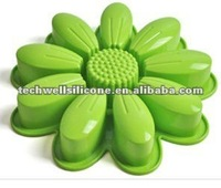 Hot !Factory wholesale high quality and multipurpose silicone flower cake mould