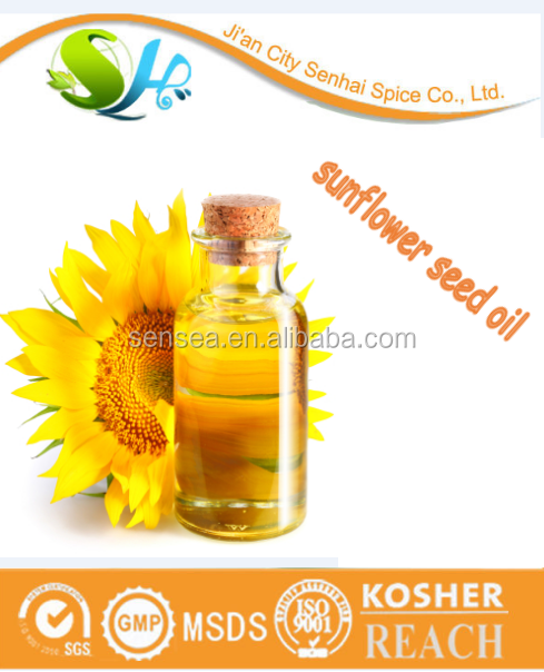 ISO certificated organic sunflower oil buyers sunflower oil in china