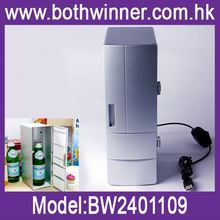 Mini usb fridge cooler ,h0t304 usb used fridge freezers , thermoelectric cooler warmer fridge