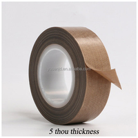 Water activated ptfe Film adhesive tape high temperature teflon Tape
