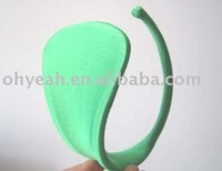 Green color in stock hot sale sexy women panty c-string fashion show