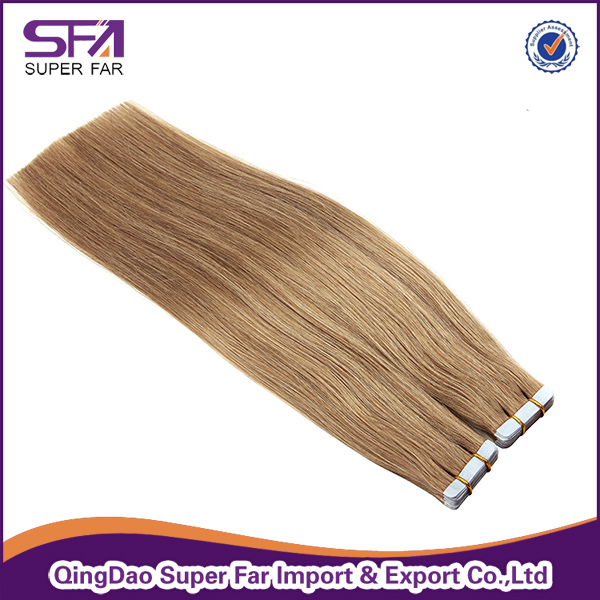 100% Human Hair Good Quality Skin Weft Remy Tape Hair Extension
