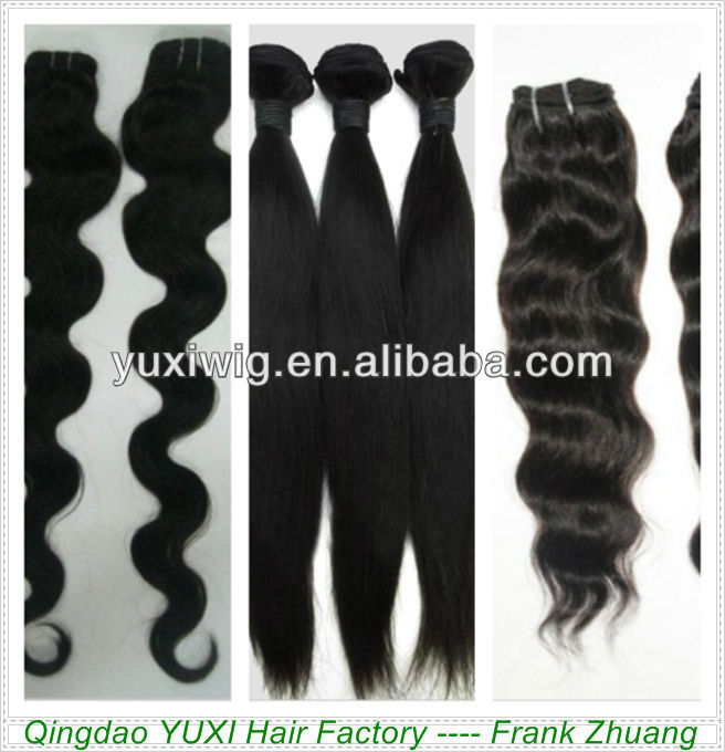 qingdao factory wholesale virgin brazilian hair weaves bundles
