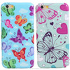 diamond attached smart phone case fancy tpu mobile covers