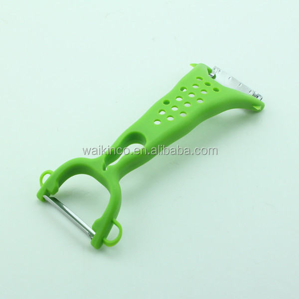 Double Head Green Color Manual Vegetable Slicer