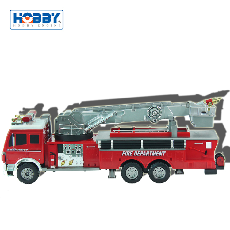 Super Fire Rescue Car RTR Rc Fire Engine Truck Model With Water Pump