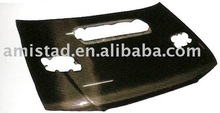 FRONT ENGINE COVER / HOOD / BONNET OEM LOOK CARBON FIBER FOR SUBARU IMPREZA