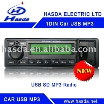 Car MP3 USB/SD radio for universal bus/truck