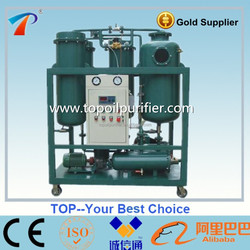 Series TY vaccum separating technology turbine oil filter plant