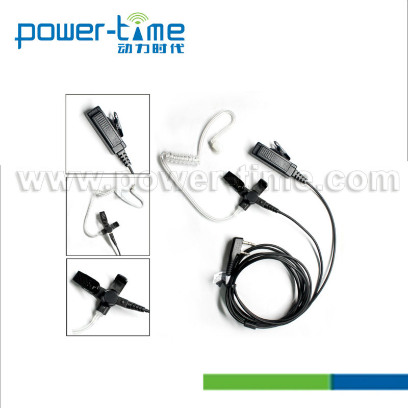 Two way radio air tube earpieces for eads tph700.