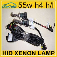 Car hid xenon lamp h4 h/l 6000k 55w with wire harness