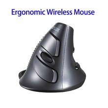 In Stock 100% Original DeLUX M618 Vertical Gaming Wireless Mouse