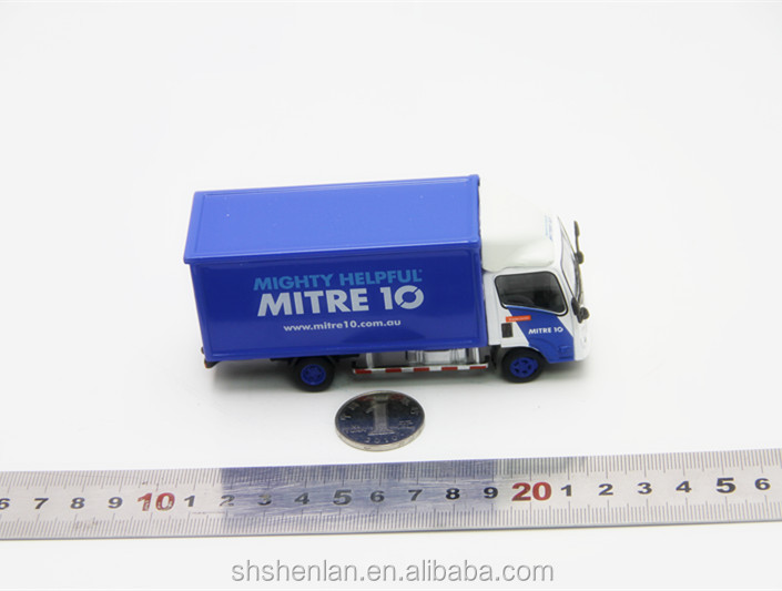 Mini metal scale 1:64 die cast metal van toy customize