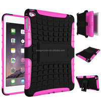 rugged protective hybrid 2 in 1 shockproof case for apple ipad mini 4 tablet