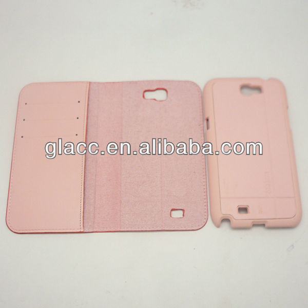 2013 New arrive fit for Samsung GALAXY Note2/N7100,stand leather case for samsung galaxy note2 n7100