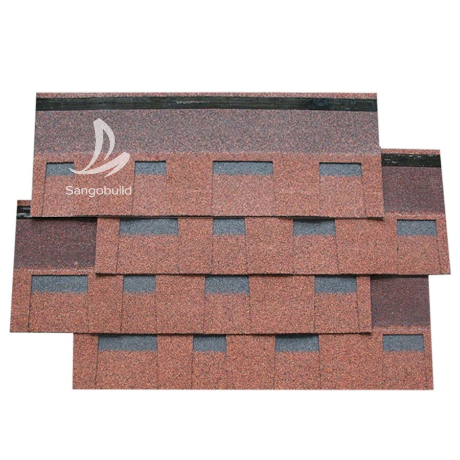 Coloured Asphalt Laminated Architectural Roof Shingles asphalt roof shingle tiles price in philippines