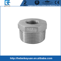 Cast Stainless Steel Bush Reducer Male to Female NPT Taper Thread Ends,Rating 150LB