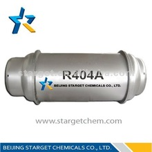 99.8% Purity r404 refrigerant replacement R-22 for refrigeration equipment ice machines