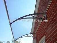 Garage Door Hardware Glass Canopy Fitting Used for Outdoor Decoration