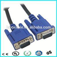 15 pin male to male super monitor vga cord cable