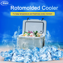 White Cooler Box/Ice Chest for fishing ; PLASTIC THERMO BOX