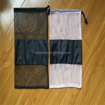 Factory Made Wholesale Cheap Drawstring Shoes Mesh Bag for shoe Packing