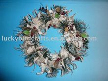 flower wreath, dia. 40cm
