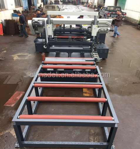 Full Automatic grating steel band saw machine GZK4240/120 avilable to service