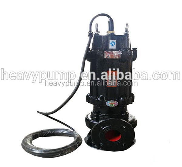 submersible marine sewage pump for pumping station