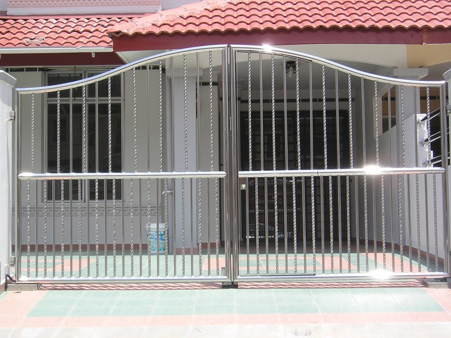 Simple Fence Gate Design yard fence gate designs/metal gate designs/steel gate designs