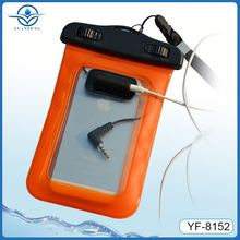 factory offer smart mobile phone pvc waterproof case for iphone5 5s