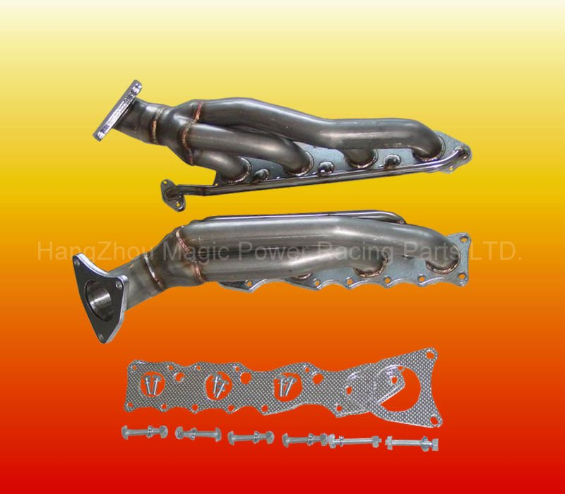 Performance 304 Stainless Steel ss car Exhaust Header for T OYOTA Tundra