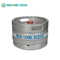 Wholesale custom euro standard 20L stainless steel draft mini beer keg