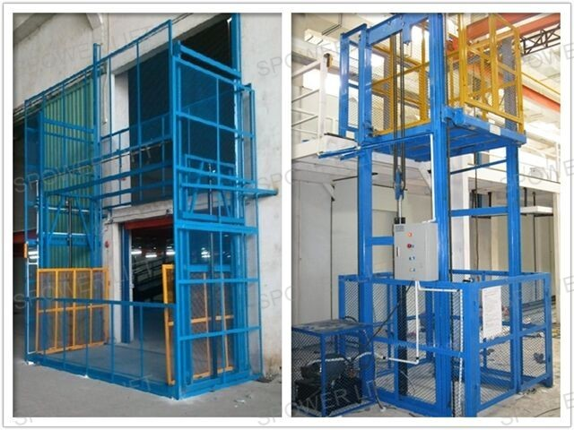 Used cargo lifting elevator equipment for granite