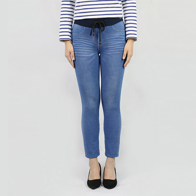 Factory Direct Sales All Kinds Of Wholesale Blue Women Trendy Jeans Pants