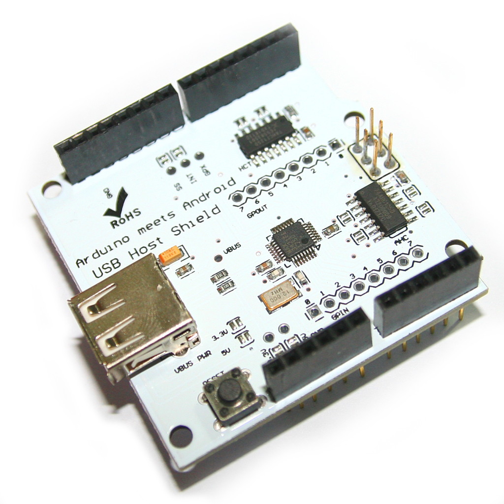 USB Host ADK Shield Support Google Android For Arduino UNO MEGA Duemilanove 2560