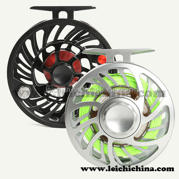 High Quality Large Arbor Waterproof Saltwater Fly Reel