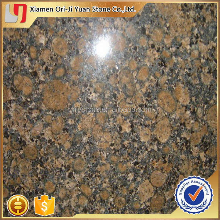 Customized new products antique brown granite slab