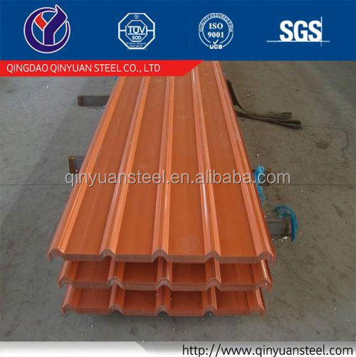 corrugated steel roofing sheet price supply