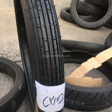 High quality motorcycle tyre 2.75-17 with high natural rubber rate