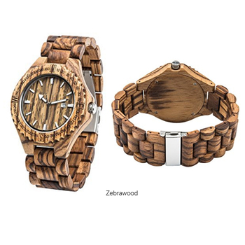 Hot Factory Direct Sale customerized natural handmade mens and womens Bamboo Wooden Quartz Wrist Watches