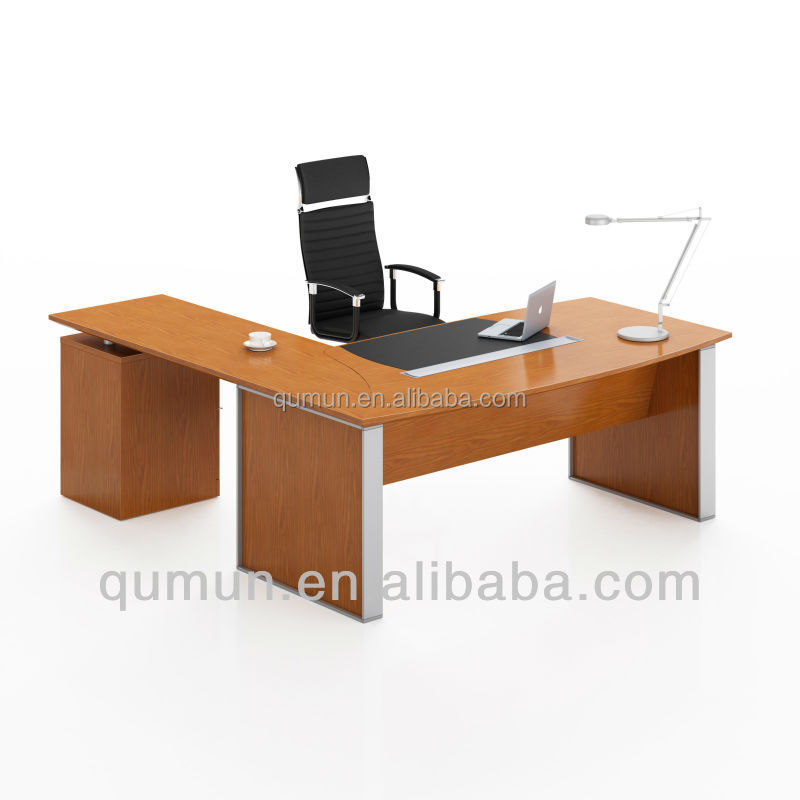 China manufature maple office veneer executive desk with modern design